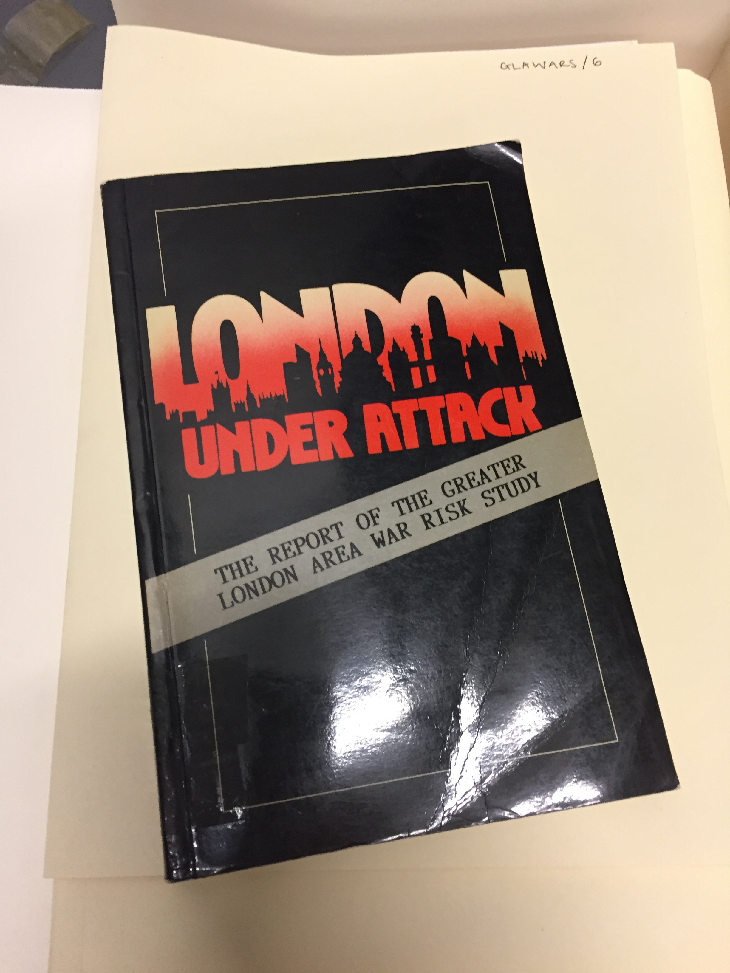 Study Report - London Under Attack