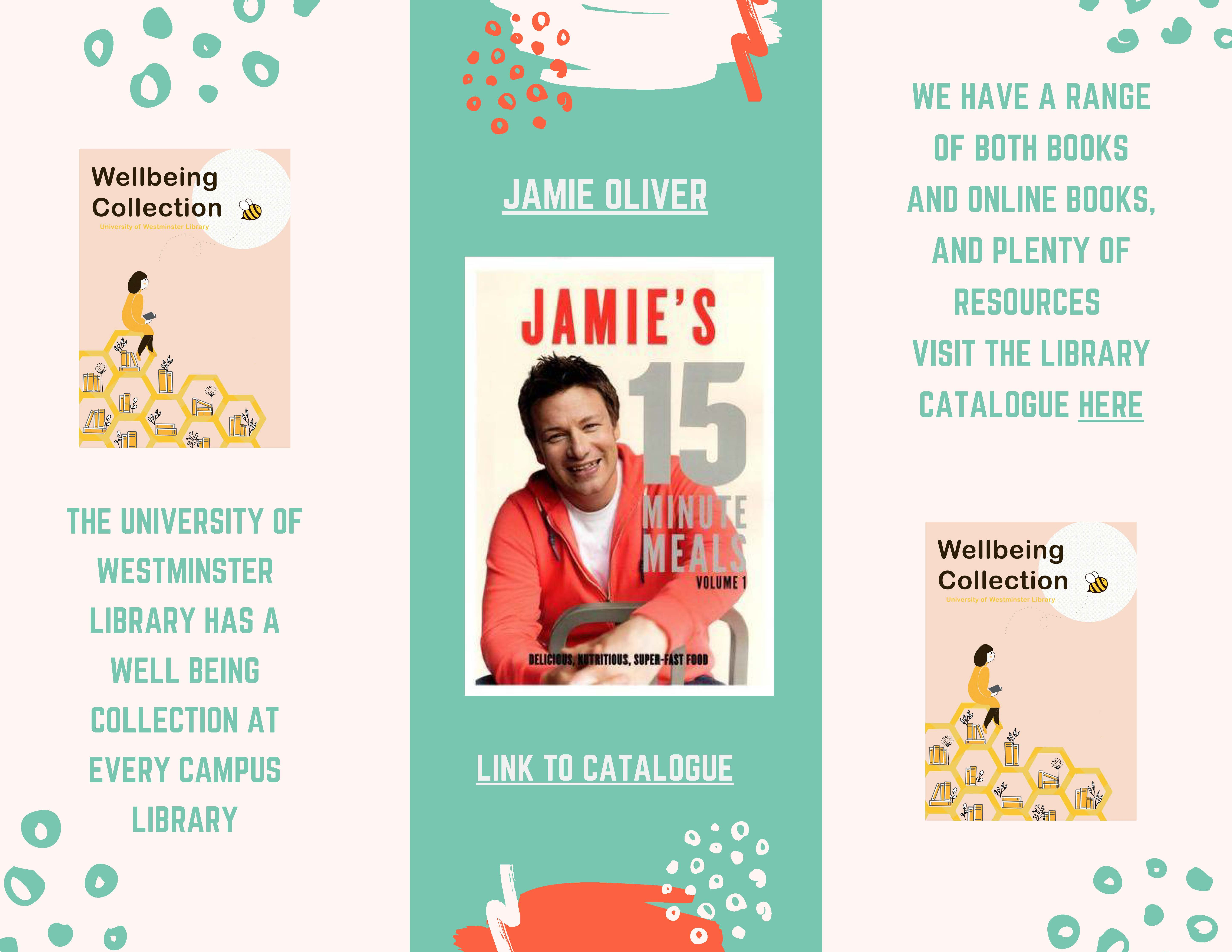 Jamie Oliver book covers