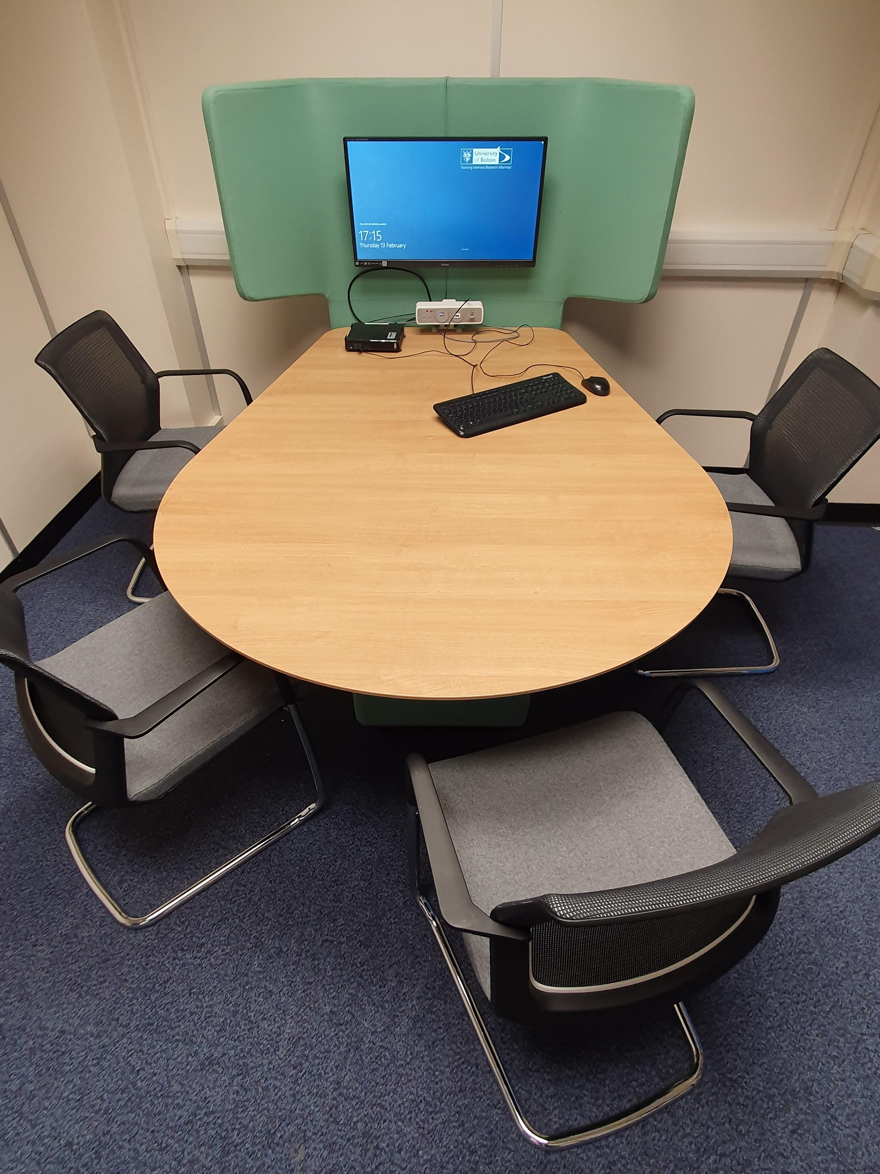 An example of a Library Group Study Room