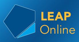 LEAP Online logo