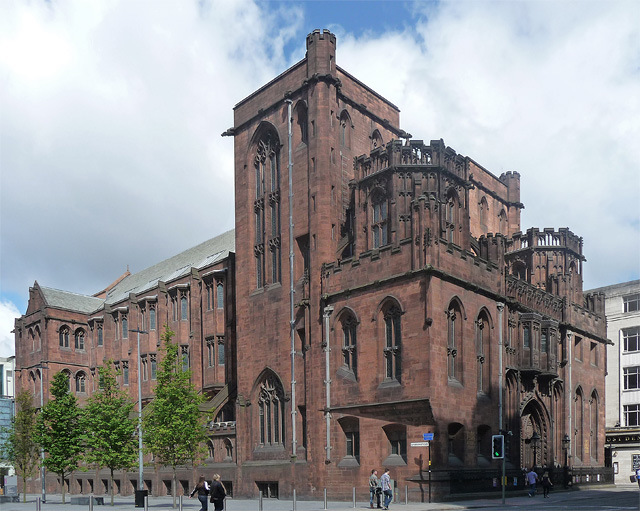 The John Rylands Library and Research Institute in Manchester