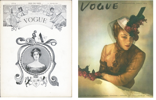 Vogue cover images