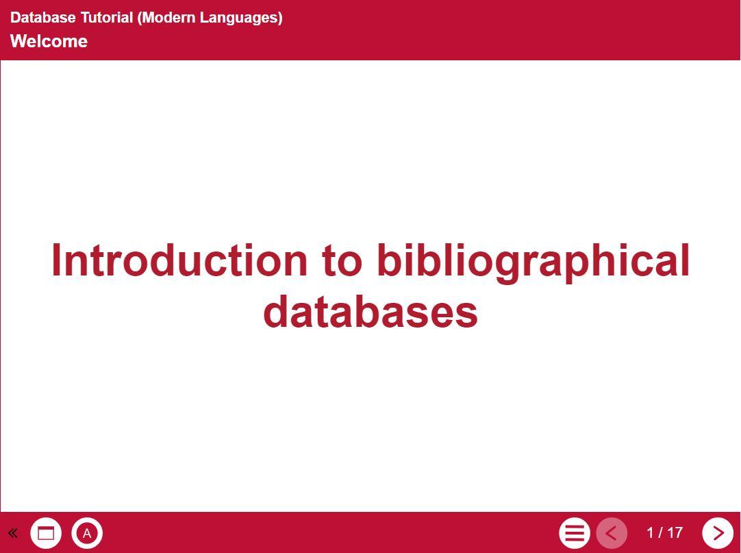 Database tutorial image