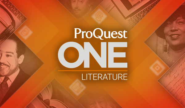 ProQuest One Literature image