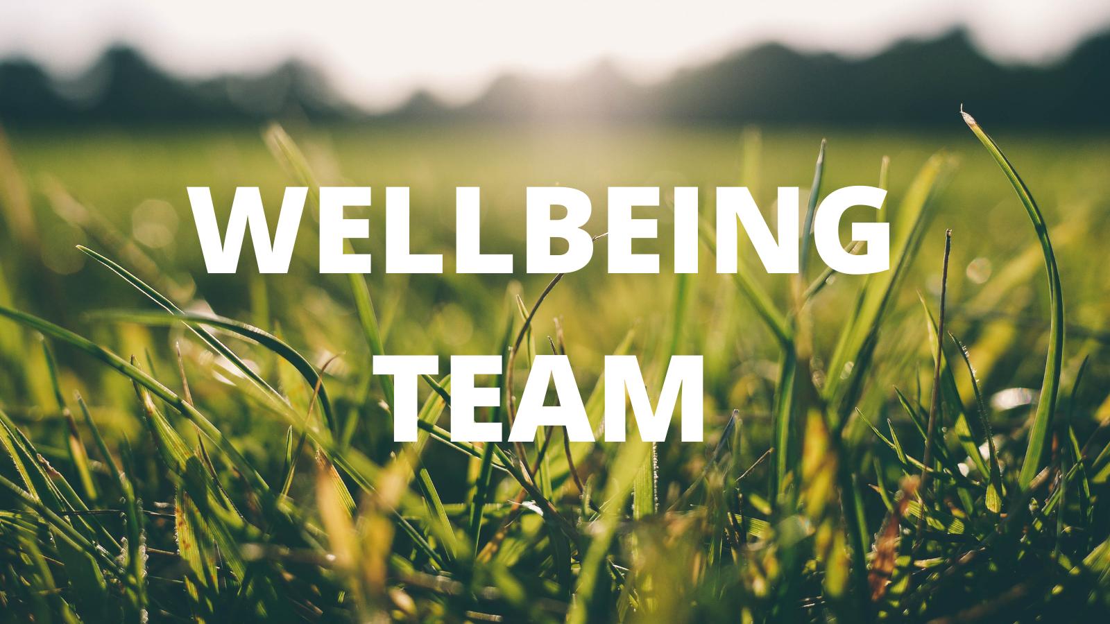 Wellbeing Team