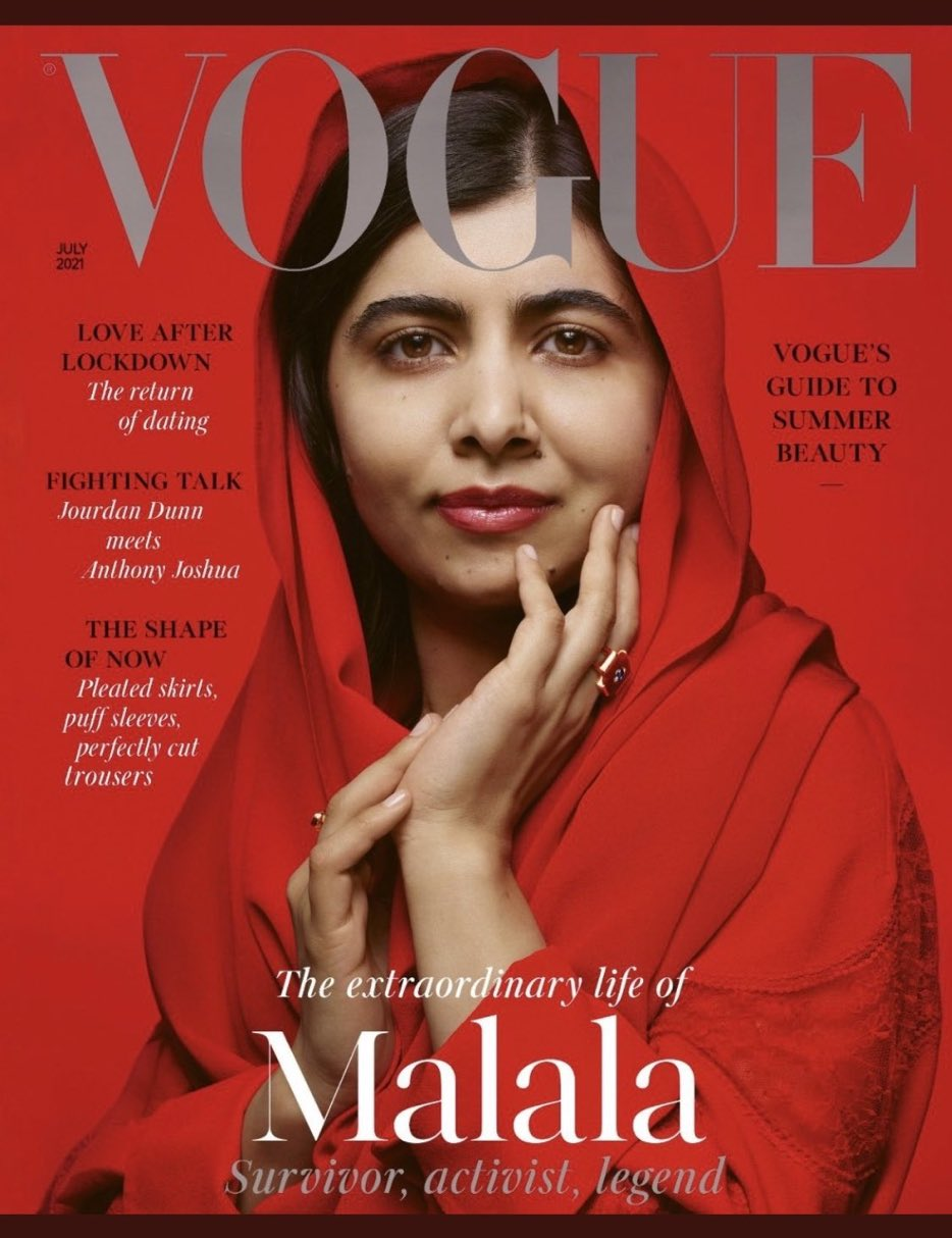 Cover of Vogue UK