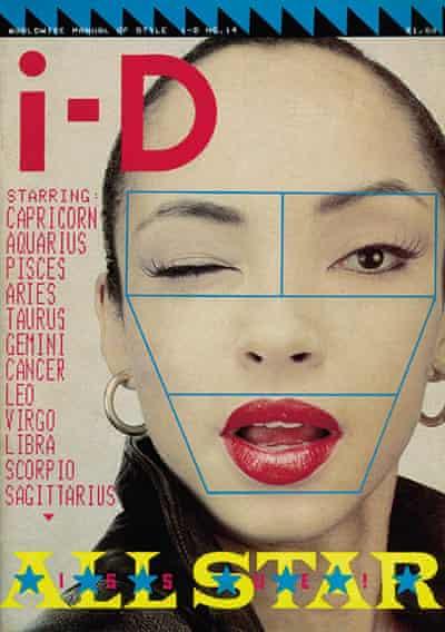 Cover of i-D magazine