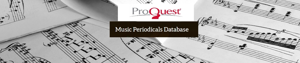 Logo de Music Periodicals Database
