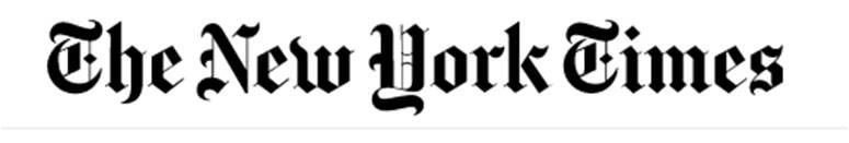 Cabecera de The New York Times