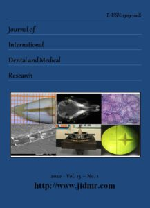 Journal of international dental and medical research