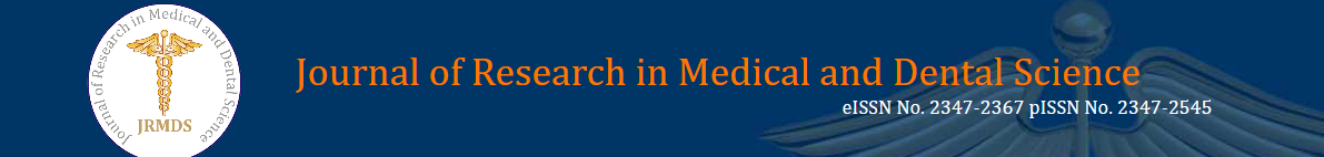 Journal of research in medical and dental science