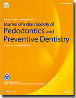 Journal of Indian Society of Pedodontics and Preventive Dentistry