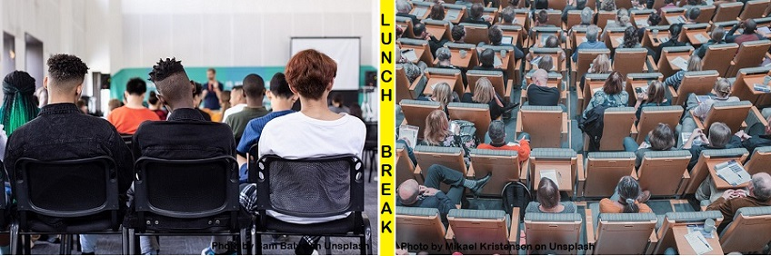 University students at lectures