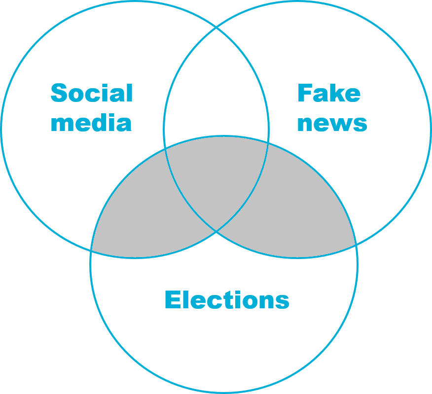 "Venn diagram (""social media OR ""fake news"") AND elections"