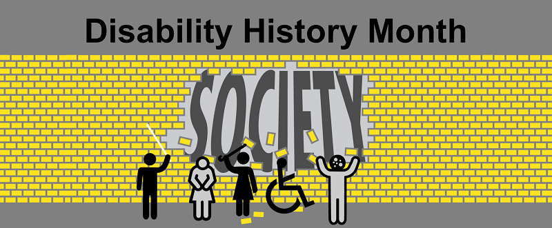 Disability History Month at the Library