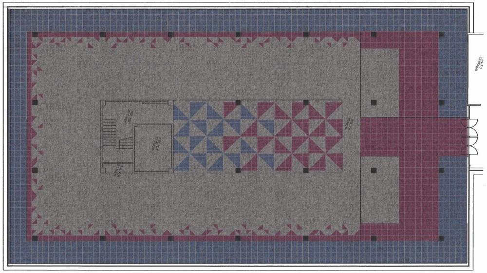 Floor 2 carpet layout