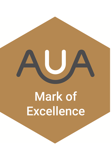 AUA Mark of Excellence Logo