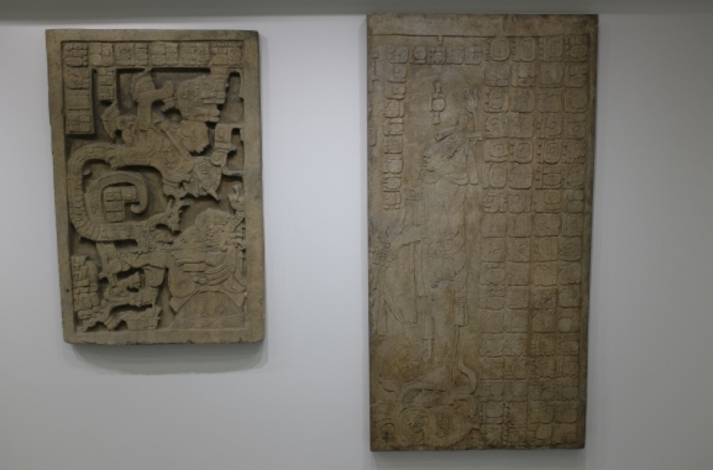 Image of two Maya casts.