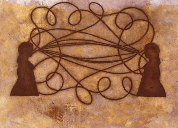 Image of Daniel Senise's artwork
