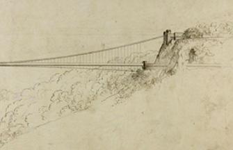 Proposed historic design for Clifton Suspension Bridge