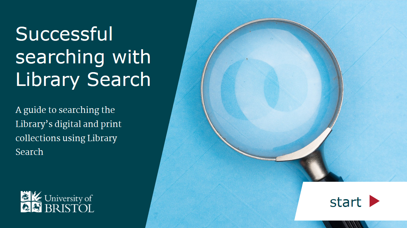 Successful searching with Library Search