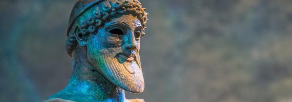 Poseidon bust