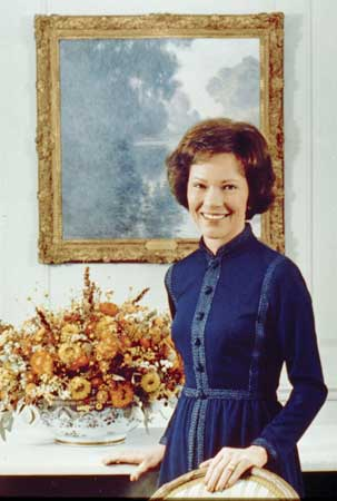 Rosalynn Carter . image. Britannica School, Encyclopædia Britannica, 19 Feb. 2021. proxy.act.edu:2120/levels/middle/assembly/view/122810. Accessed 1 May. 2021.