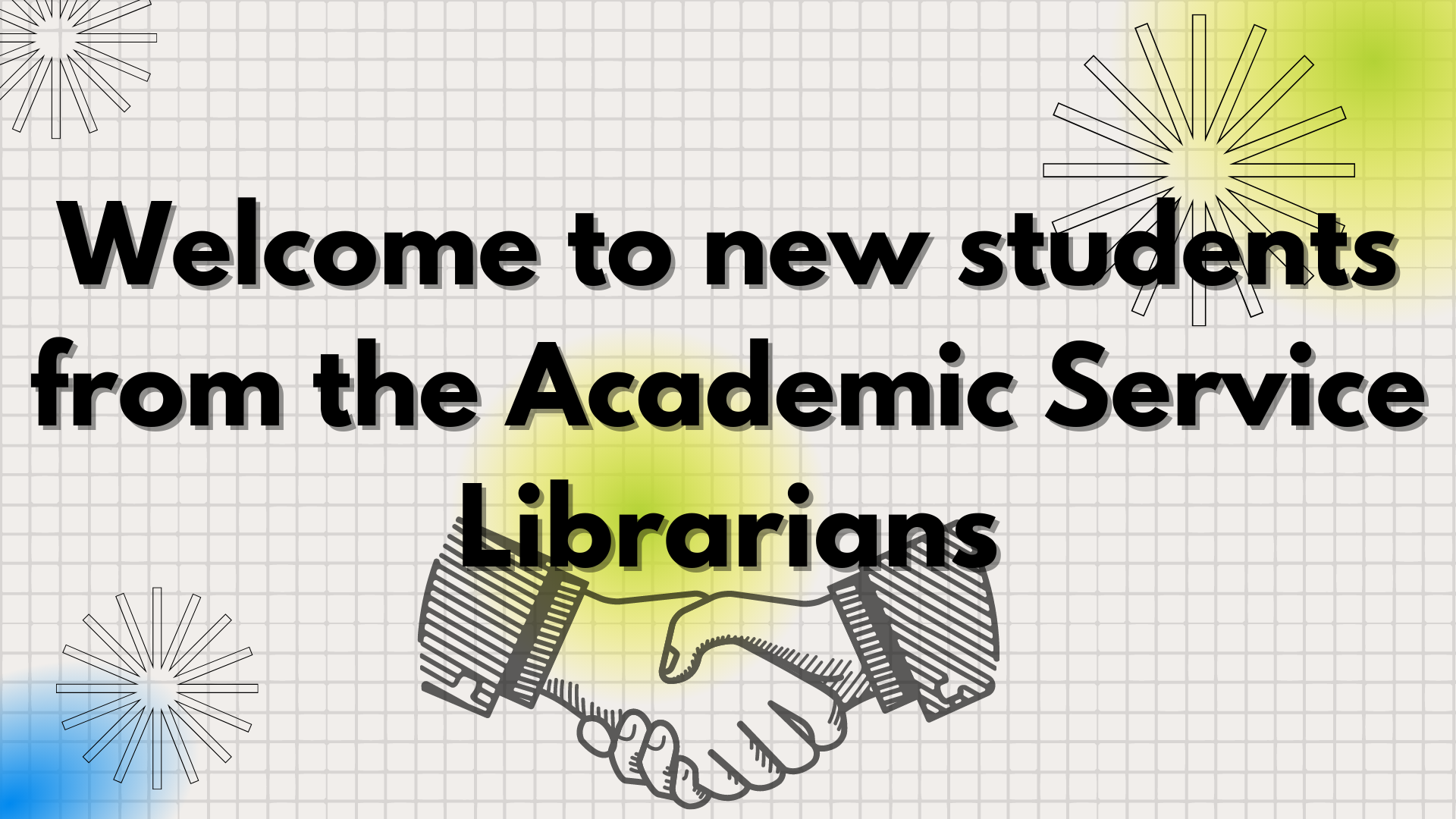 Link to the Library Welcome