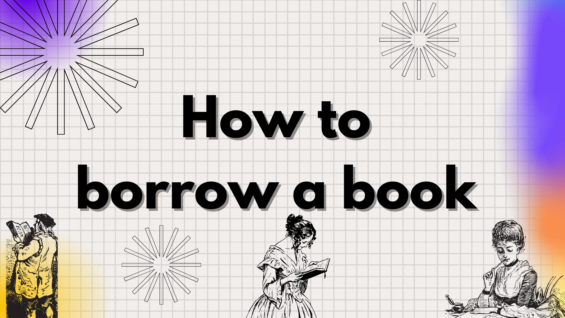 Finding and borrowing a book