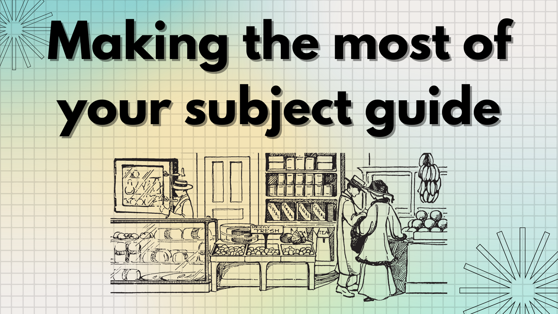 Link to making the most of your subject guide video