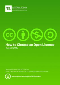 Green booklet on how to choose an open licence