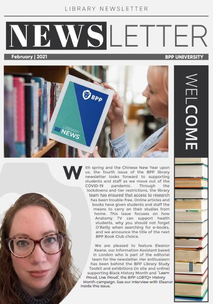 Library Newsletter Feb 2021