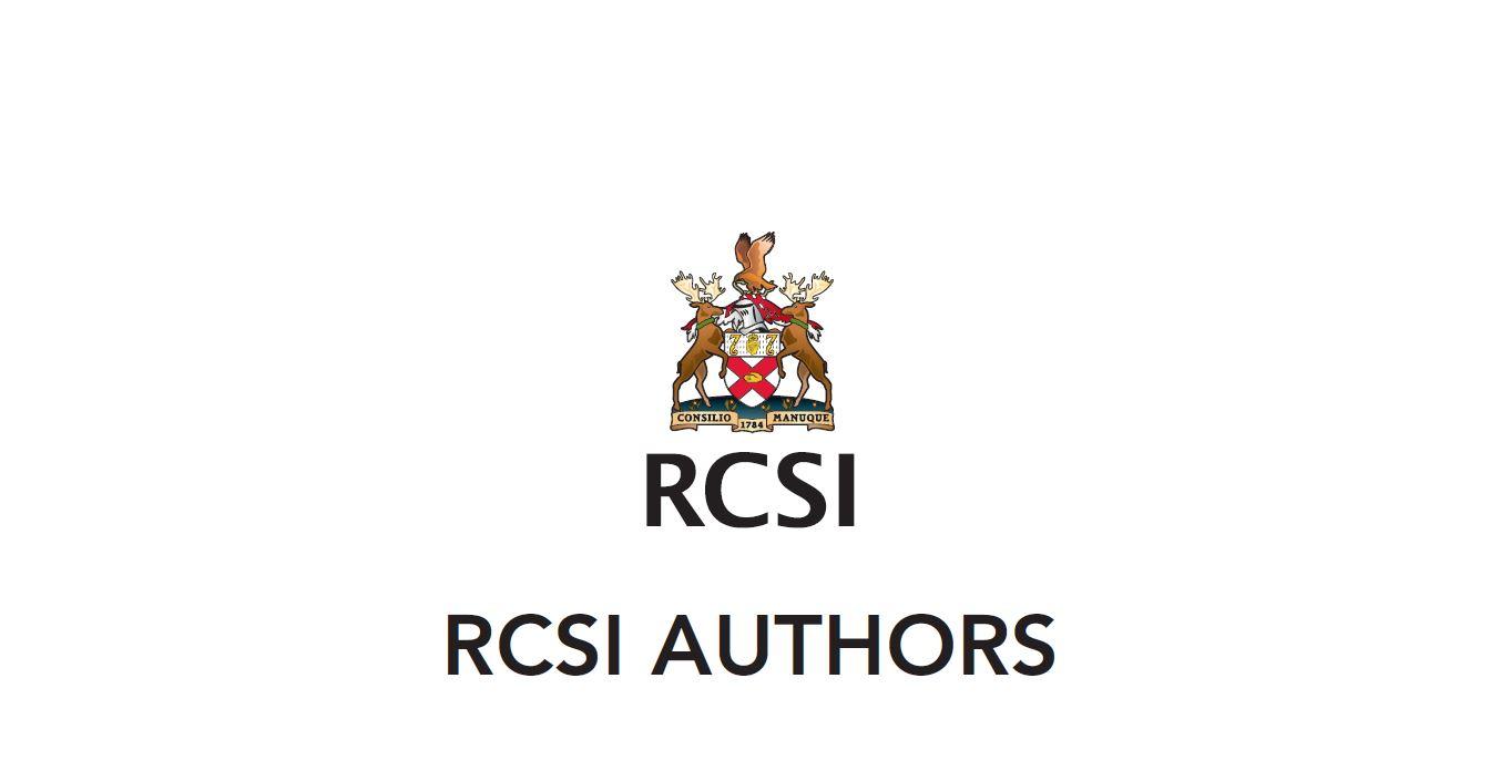 RCSI Authors Decal