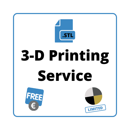 Image link to a PDF version of 3-D Printing Service