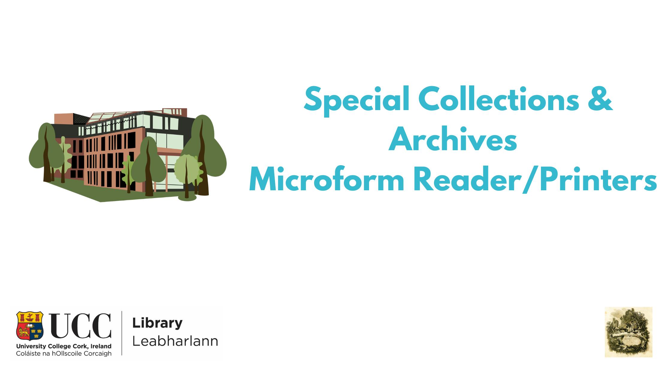 Mircoform Reader/Printer Banner