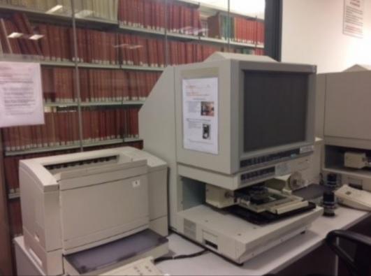 Microform reader/printer