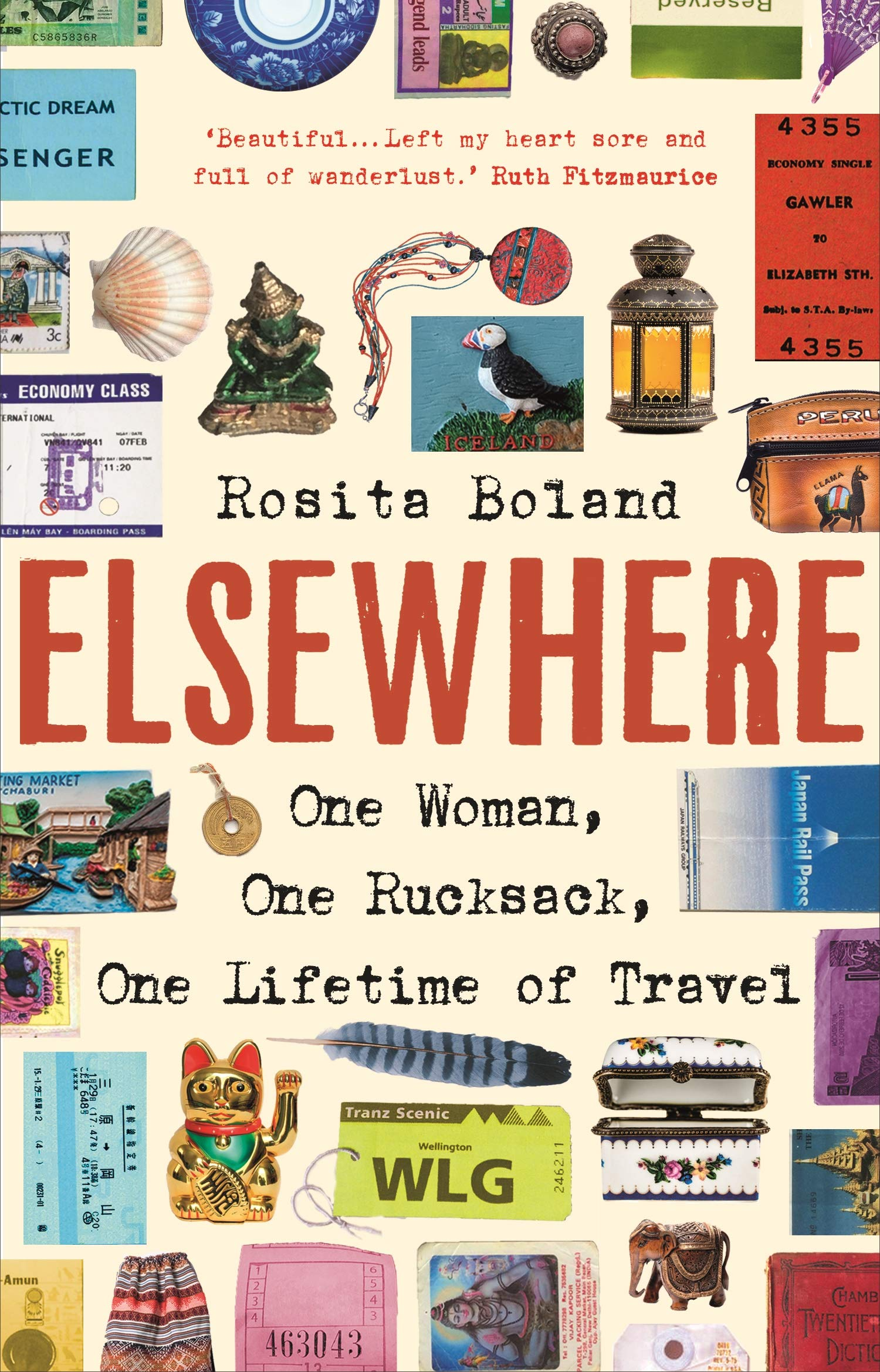 Elsewhere: one woman, one rucksack, one lifetime of travel cover
