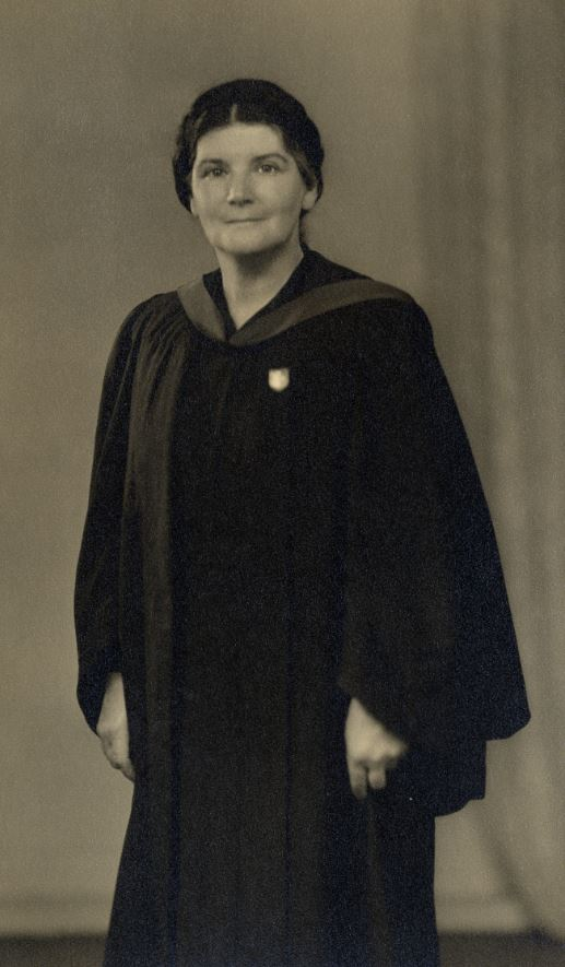 Photograph of Dr Anne McAllister
