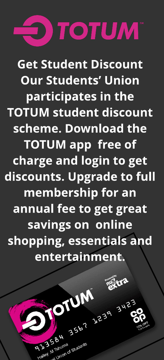 Join totum for student discounts