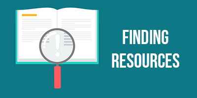Finding resources icon