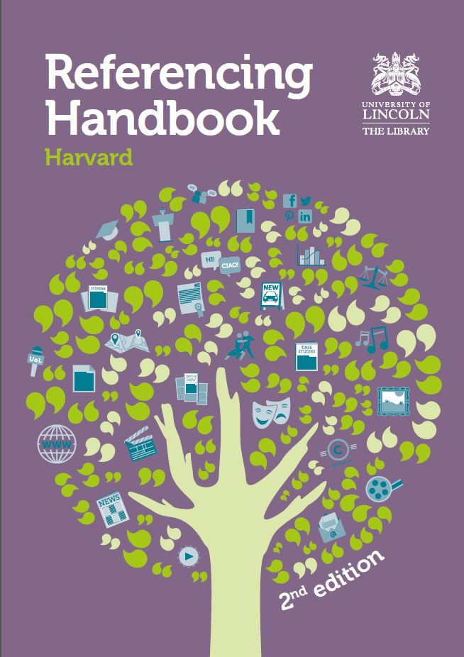 Cover of the Harvard Referencing Handbook