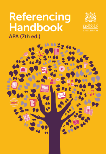 Cover of APA 7th referencing handbook