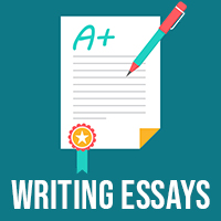 Writing essays icon