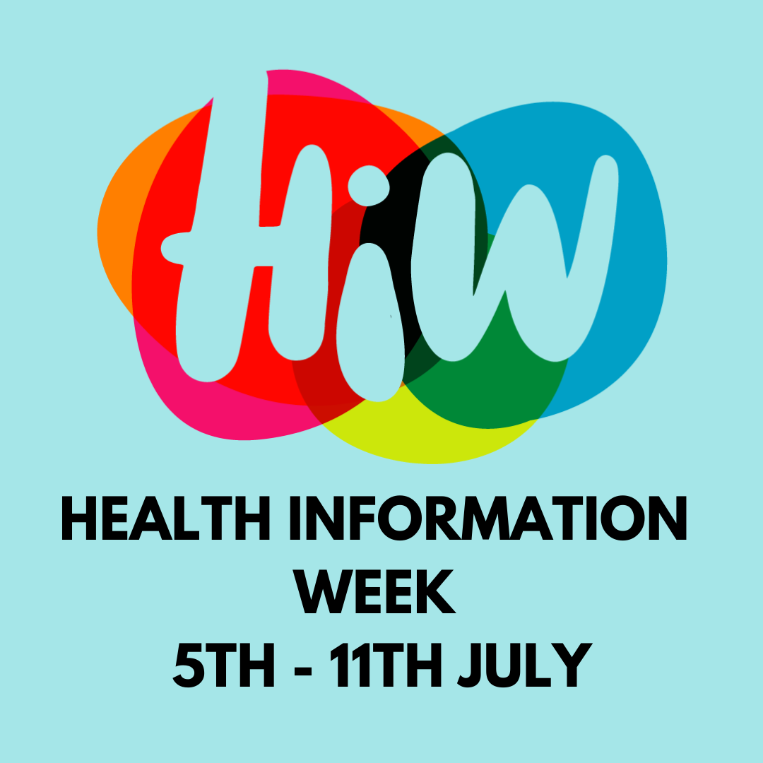 Health Information Week takes place between 5th and 11th July 2021.