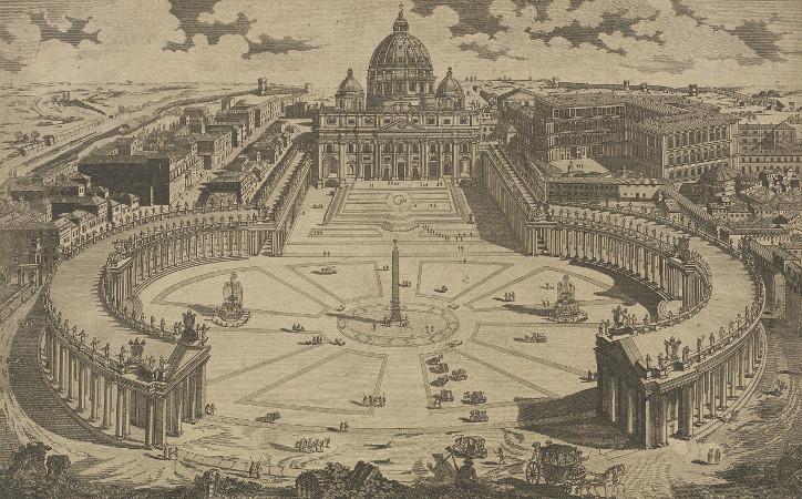 IE BL/CV/TP/ITALY/ROME/11 St. Peter's Church