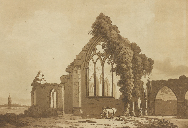 IE BL/CV/TP/KILDARE/3 The Abbey at Castle Dermot