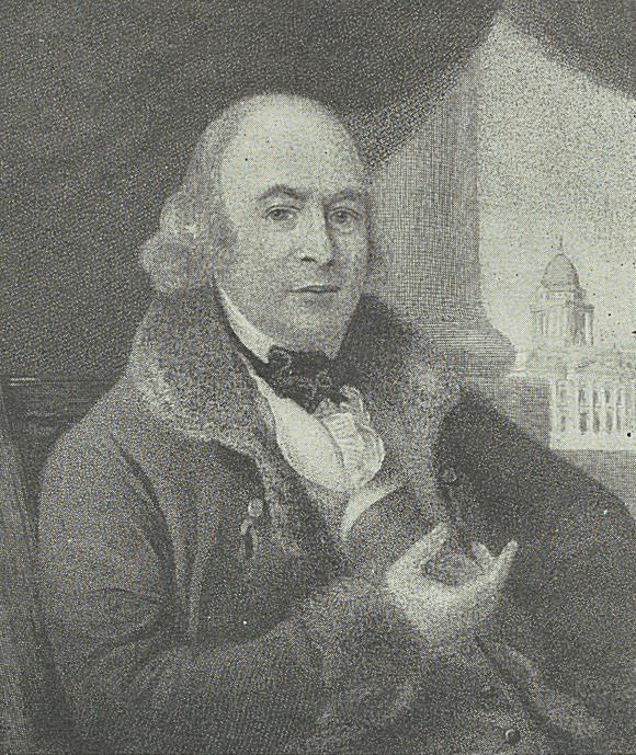 Portrait of James Gandon