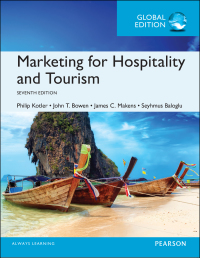 Marketing for hospitality and tourism.