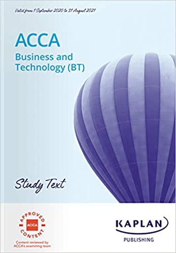 BUSINESS AND TECHNOLOGY (BT) - STUDY TEXT.