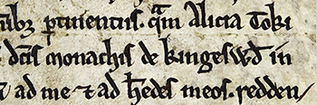 charter of Kingswood Abbey